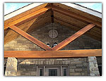 Porch Ceiling and Beam